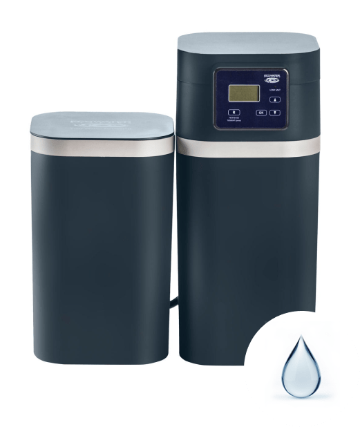EcoWater water softener with water drop icon | EcoWater