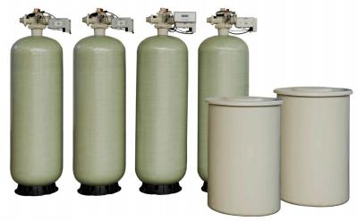 """5000 Series 2"""" Quadplex Water Softener"""