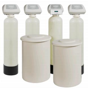 """5000 Series 1"""" Quadplex Water Softener"""