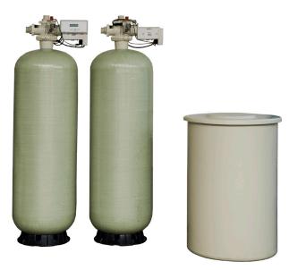 """5000 Series 2"""" Duplex Water Softener"""